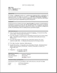 Sap Fico Fresher Resume Sample Best of SAP FICO Consultant Resume Download SAP Pinterest Beauty Quotes