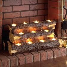 artificial fire logs best 25 fake fireplace logs ideas on logs in