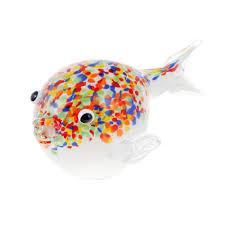 <b>Фигурка Art glass рыба</b> фугу 23см (1002200544) купить в Москве в ...