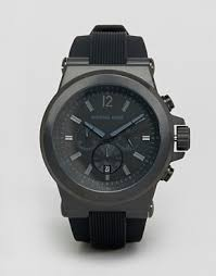 michael kors shop michael kors for men s watches michael kors michael kors mk8152 oversized dylan silicone chronograph watch