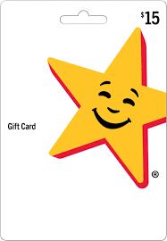 Hardee's / Carl's Jr. - $15 Gift Card