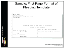 Pleading Paper Word Template Best Of Free Table Contents Template Word Legal Pleading Templates