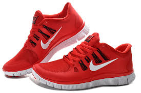 nike running shoes red and white. hot nike free 5.0+ mens red black running shoes sneaker and white m