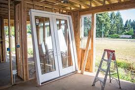 our client ordered a set of doors pre hung for out swing installation