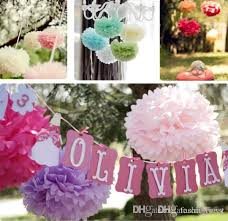 tissue paper flower centerpiece ideas party decoration paper flowers tissue paper pom poms colorful flower
