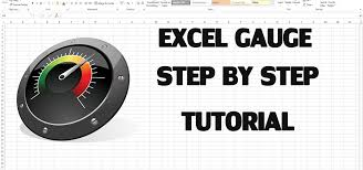 Create Speedometer Chart In Excel 2013 How To Create Excel Kpi Dashboard With Gauge Control