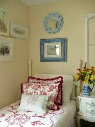 Red Blue Bedroom Toile Bedrooms And Walls