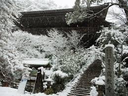白く染まった書写山円教寺姫路兵庫県の旅行記ブログ By