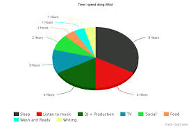 I Made A Pie Chart Of My Daily Activities Thought If This