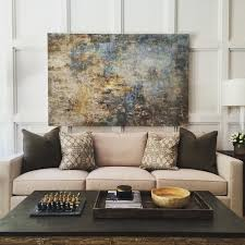 Furniture Engaging Art Above Couch 4 Transitional Living Room Art