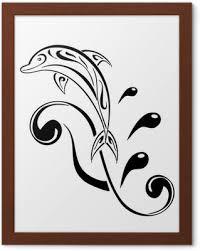 Delfín Tetování