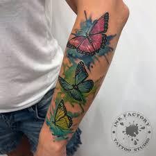 бабочки сделано в Inkfactory