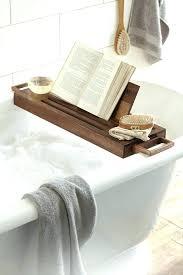 brushed nickel bathtub caddy brushed nickel bathtub caddy winsome attractive brown wood tray bath tub and brushed nickel bathtub caddy