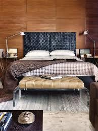 woven leather masculine headboard