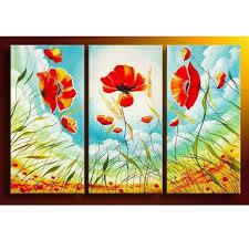 oversized 3 piece canvas wall art sets