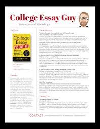 College Essay Writing Workshop Speaking Workshops