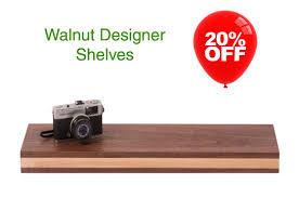 Walnut Effect Floating Shelves Classy Walnut Floating Shelves Floating Shelves
