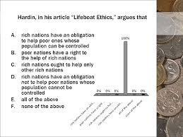 lifeboat ethics the case against helping the poor by garrett 4 hardin in his article ldquolifeboat ethics