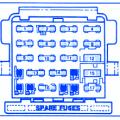 pontiac 6000 6 cyl 1986 fuse box block circuit breaker diagram pontiac fiero 1984 fuse box block circuit breaker diagram