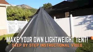 make your own tipi tent shelter diy