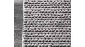white braided rug elegant nuloom handmade cable new zealand wool 5 x for 19