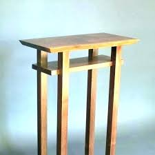 tall accent tables stands small table tiny wood entry black side skinny console tab