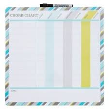 Quartet Magnetic Childrens Chore Chart Dry Erase Board 12 X 12 Inch
