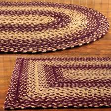 braided area rugs made in usa home depot 8x10