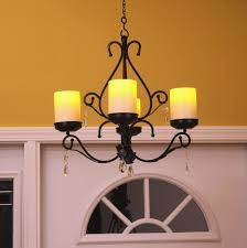 battery operated chandelier dining room luxury outdoor candle chandelier non electric candles