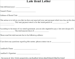 Late Notice For Rent Letter Payment Terms Letter Template Late Notice Printable Rent