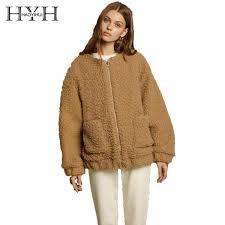 <b>HYH HAOYIHUI Simple</b> Personality Imitation Lamb Cashmere ...