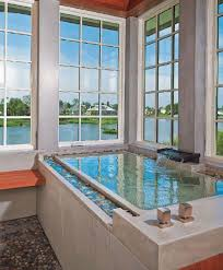 rectangle shaped drop in infinity tub