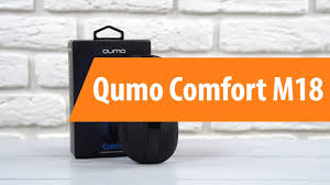 Распаковка <b>Qumo</b> Comfort M18 / Unboxing <b>Qumo</b> Comfort M18