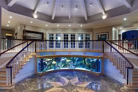 fish tank stand design ideas office aquarium. Decorations:Striking Modern Home Office Aquarium Decoration Ideas With Leather Sofa Armchair And Wooden Cabinet Fish Tank Stand Design O