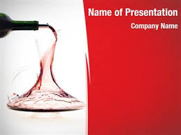 Wine Powerpoint Template Carafe With Wine Powerpoint Templates Carafe With Wine Powerpoint