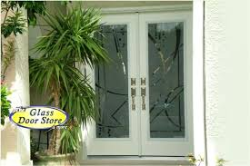 best exterior doors for home of etched glass front geometric designs on images door panels etch