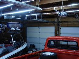 exterior led lighting car. garage where cool white flexible led strips were used to replace old fluorescent fixtures. exterior led lighting car