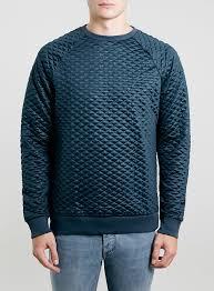 Topman Blue Technical Quilted Sweatshirt   Where to buy & how to wear & ... Topman Blue Technical Quilted Sweatshirt ... Adamdwight.com