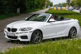 BMW 2-Series Cabriolet Tests With Little Camo - GTspirit