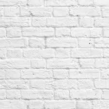 Muriva Painted White Brick Wallpaper 102539