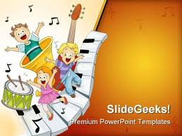 Music Powerpoint Template Music Templates For Powerpoint The Highest Quality