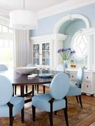blue dining room chairs. Pale Blue \u0026 Dark Wood Dining Room Chairs H