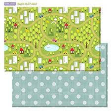 Amazon Baby Care Play Mat Country Town Blue by Baby