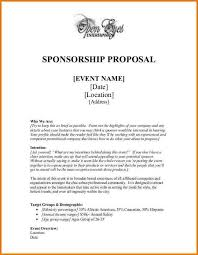 46 How To Write Sample Sponsorship Proposal Letter For