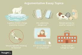 50 Compelling Argumentative Essay Topics