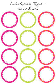 8 Cupcakes Ring Toppers Printables Photo Diamond Ring Drink Tags