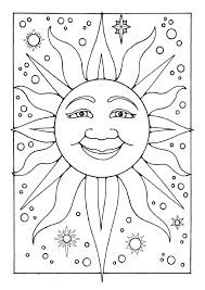 Small Picture Free Coloring Pages Of Stars suncoloringpages14jpg Coloring