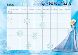 Elsa Potty Training Chart 28 Images Of Disney Potty Chart Template Sofond Net