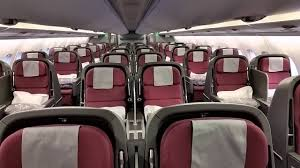 Qantas A380 Cabin Walkthrough Upper Deck