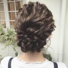 髪の毛が多い人硬い人でも柔らかく作れますよ最近のヘアアレンジ集
